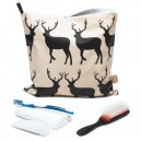 Kissing Stags Large Toiletry Bag
