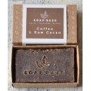 Coffee and Raw Cacao Natural Soap
